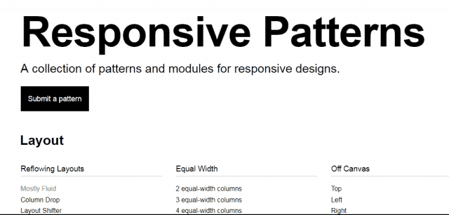 responsive-patterns