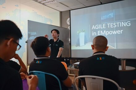 Agile training event for our Developers