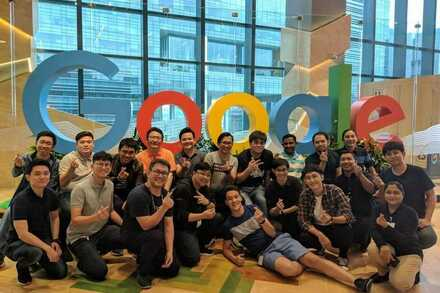 Twin team @ Google Singapore