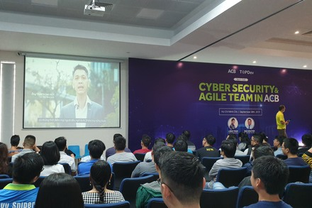 CyberSecurity & Agile team in ACB