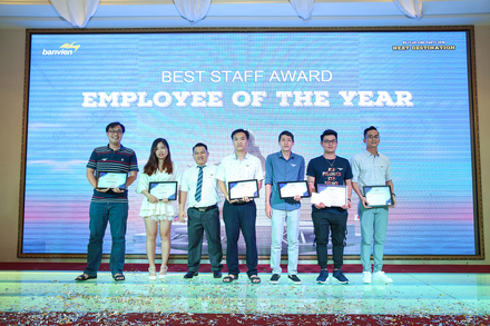 Ban Vien's Best Employees in 2019